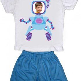פיג'מה בנים – רובוט