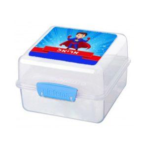 קופסת אוכל סיסטמה סופרמן שם