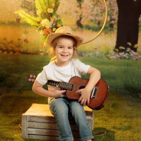 צילום עם אביזרים רטרו בגני ילדים