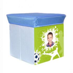 שרפרף אחסון – כדורגל תמונה