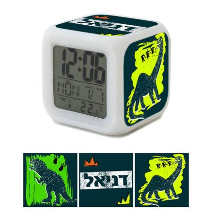 שעון מעורר דינוזאורים לילדים