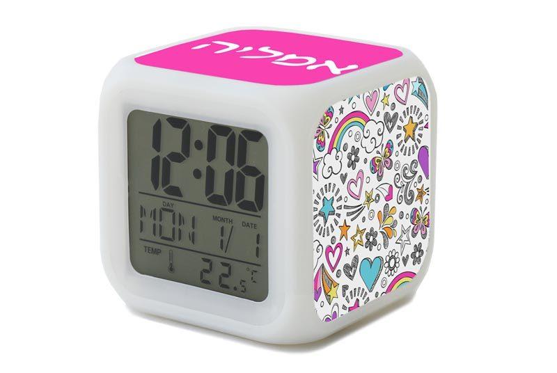 שעון מעורר עולם הבנות לילדות