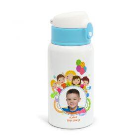 בקבוק נירוסטה ילדים עיצוב ילדים תמונה