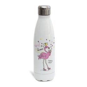 בקבוק תרמי פלמינגו שם