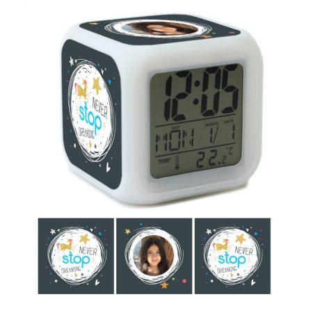 שעון מעורר לילדים NEVER STOP תמונה